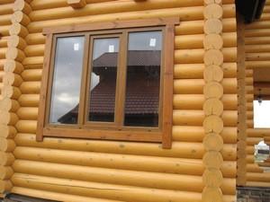 Как вставить окна в дома из сруба