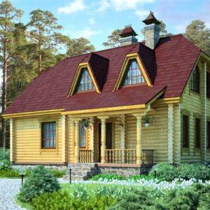 Срубы домов 100 - 150 м2